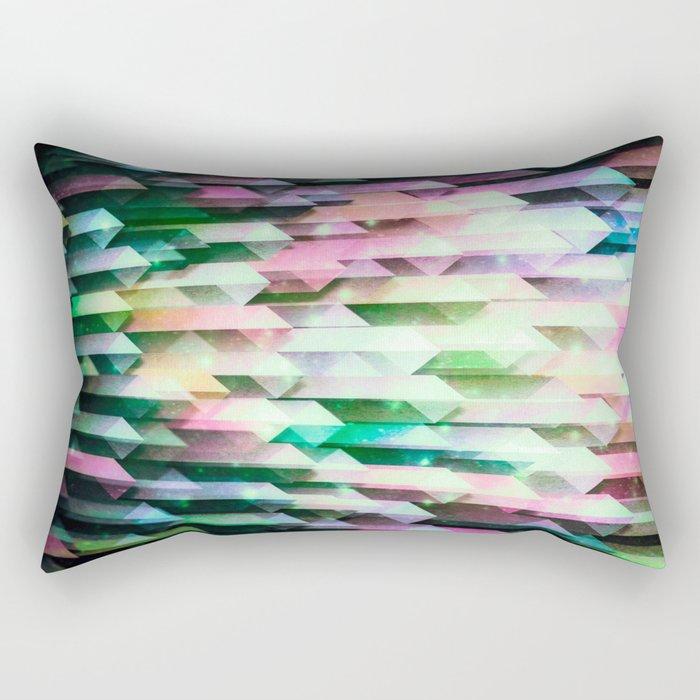 vivid quartz rising Rectangular Pillow