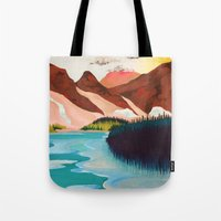 outdoor Tote Bags featuring Outdoor by salauliamusu