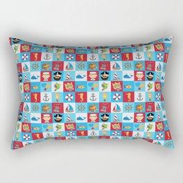 Ahoy There! Rectangular Pillow