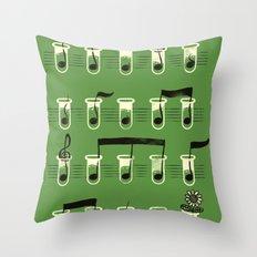Experimental Music Throw Pillow