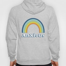 Anxiety Rainbow Hoody