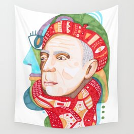 Abstract Pablo Picasso Wall Tapestry