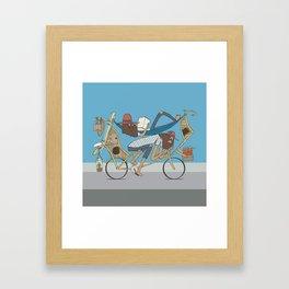 Happy Campers Framed Art Print