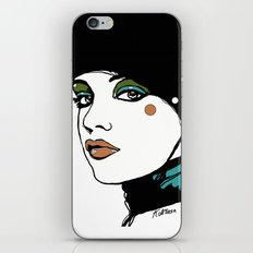 Green Eyeshadow  iPhone & iPod Skin