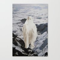 ghost Canvas Prints featuring Ghost by John Turck