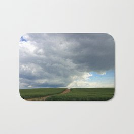 Supercell Thunderstorm, Montana 2013 (color) Bath Mat