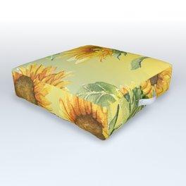 Sunflowers 2 Outdoor Floor Cushion