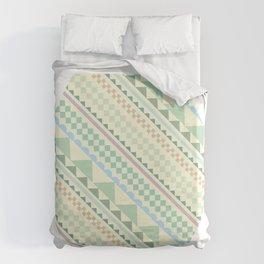 Textile Hexagon Duvet Cover