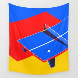 Ping Pong Wall Tapestry