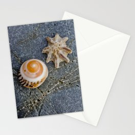 shell duo Stationery Cards