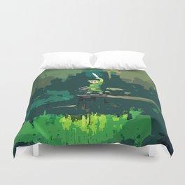 Legend Of Zelda Link Painting Art Duvet Cover
