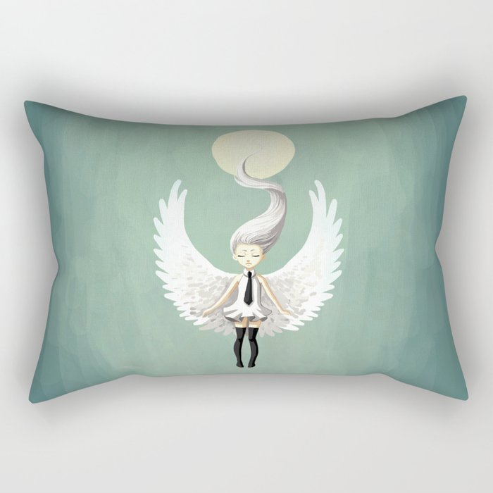 Angel 2 Rectangular Pillow
