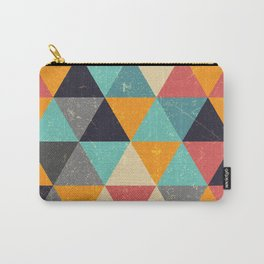 Trianglify Carry-All Pouch