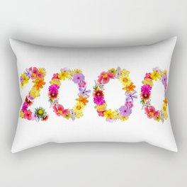 All Color Flower 2000 Rectangular Pillow