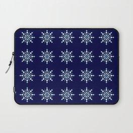 Snow Flakes Pattern Laptop Sleeve