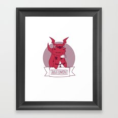 Takatomon Framed Art Print