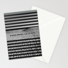 ALONE AMONG THE OTHERS Stationery Cards