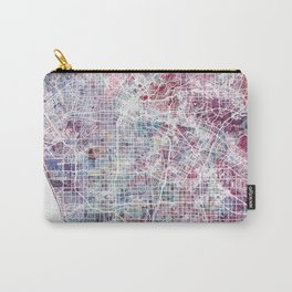 Los angeles map Carry-All Pouch