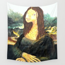Fisha Lisa Wall Tapestry