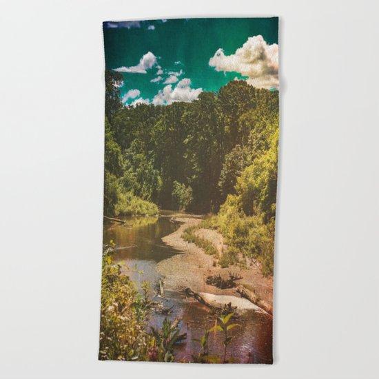 Black River Beach Towel