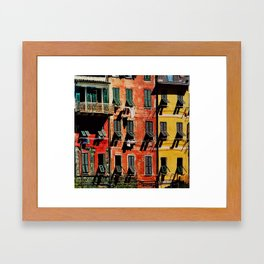 Colours Framed Art Print