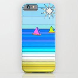Sail Away - Summer and Beach Art iPhone Case