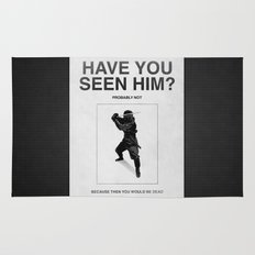 Have you seen him? Rug