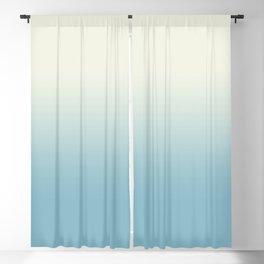 Ombre Blue Petit Four Gradient Motif Blackout Curtain
