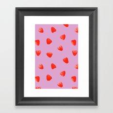 Raspberry Heaven Framed Art Print