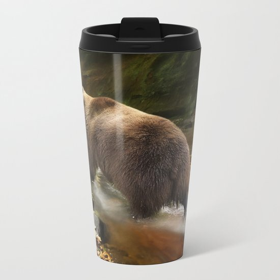 Grizzly Creek Metal Travel Mug