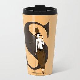 Simone & Bodoni Travel Mug