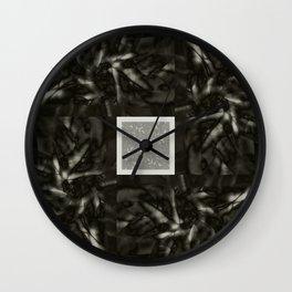 Organic Light b&w Wall Clock