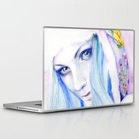 russian Laptop & iPad Skins featuring Russian winter by Cora-Tiana