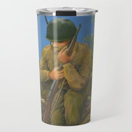 A Soldier's Goodbye Travel Mug