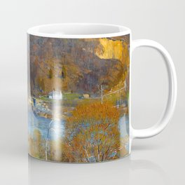 Granite Quarry; The Valley, Tohickon, Pennsylvania river valley landscape painting by Daniel Garber  Coffee Mug