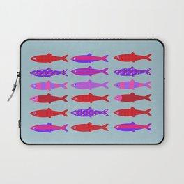 Colorful fish school pattern Laptop Sleeve