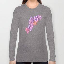 Orchid Splash Long Sleeve T-shirt