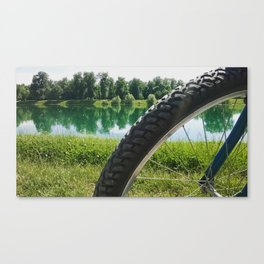 Nice day for a ride Canvas Print
