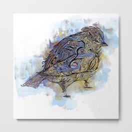 Put a Bird on It Metal Print