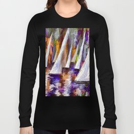 Sails To-Night Long Sleeve T-shirt