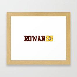 Rowan Class of 2023 Framed Art Print