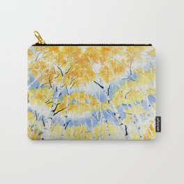 Under the Birch Forest Carry-All Pouch