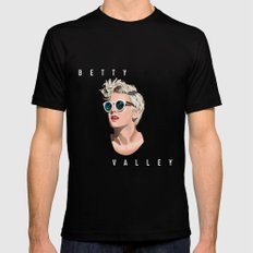 Betty Who Party in the Valley | Pop Star Mens Fitted Tee MEDIUM Black