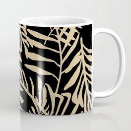 Neutral Palm Leaves Coffee Mug