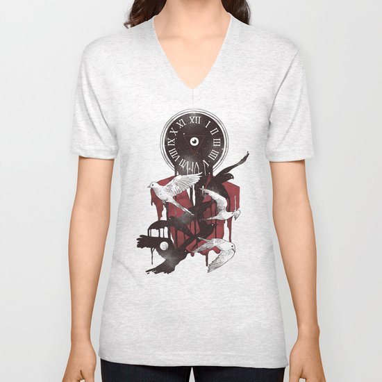 Existence in Time and Space Unisex V-Neck