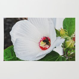 The Flower and the Bee Rug
