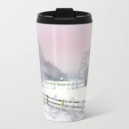 Winter road Travel Mug