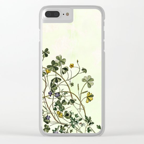 This is how a garden grows Clear iPhone Case