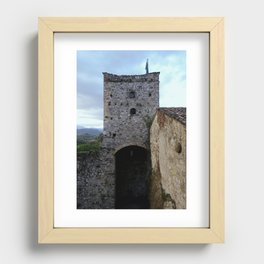 Game Of Towers Recessed Framed Print