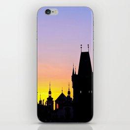 Sunrise at Karluv Most, Prague iPhone Skin